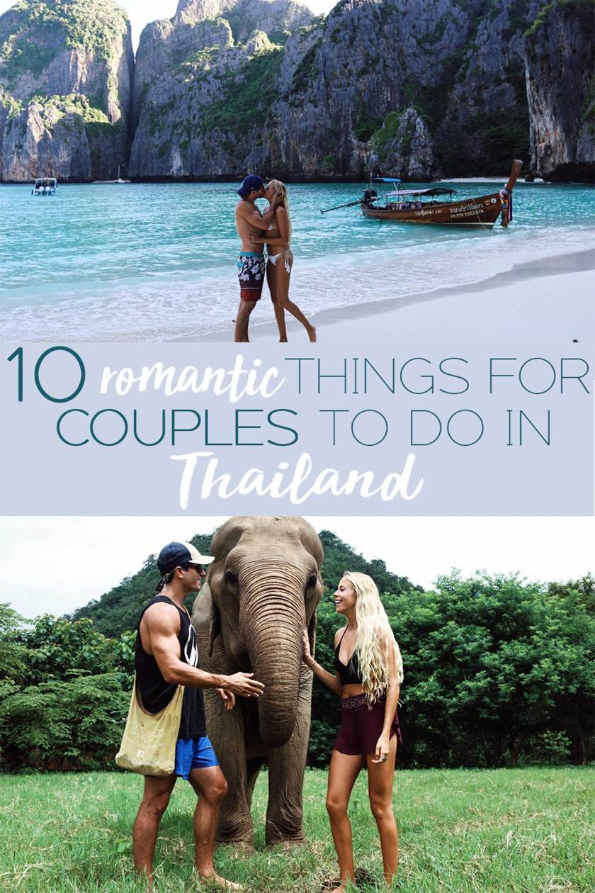 10 Romantic Things for Couples to do in Thailand