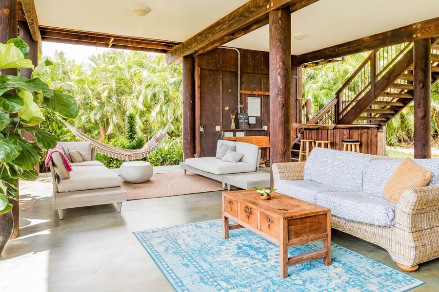 tropical airbnb hawaii mango farm