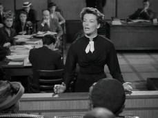 Hepburn as a lawyer in Adam's Rib