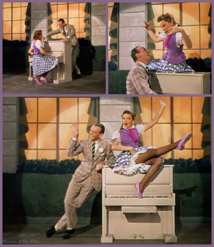 Easter Parade Garland Astaire piano