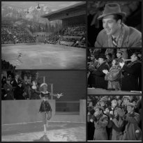 Sonja Henie as a professional skater in One in a Million