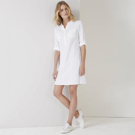 White Company shirt dress pic
