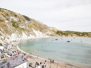 Lulworth Cove Dorset coastline