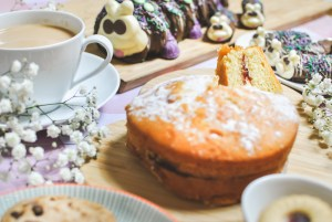 M&S macmillan coffee morning cakes and biscuits