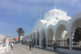 Cathedral in Fira.
