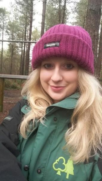 In Creech Wood.