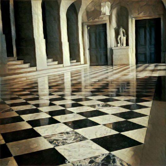 Ballroom in Palace of Versailles