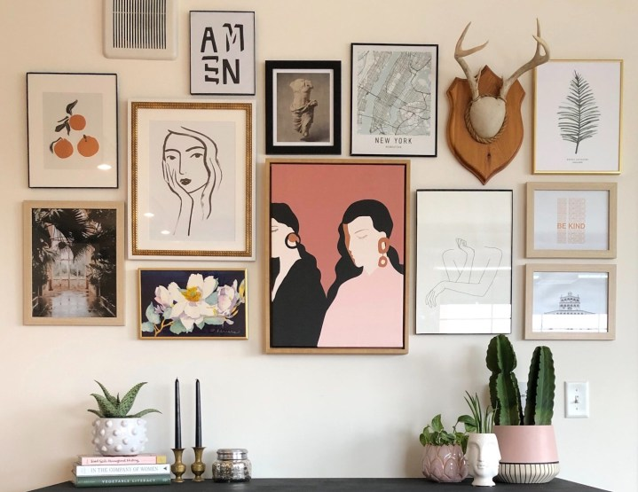 5 Tips for Creating an Inexpensive Gallery Wall