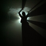 "Anthony McCall's ""You and I, Horizontal (II)"" at the Contemporary Art Museum"