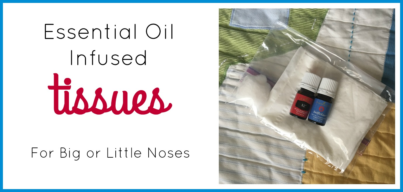 Essential Oil Infused Tissues