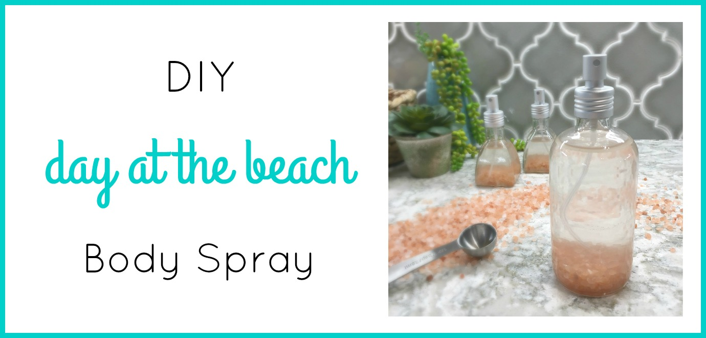 DIY Himalayan Salt Body Spray