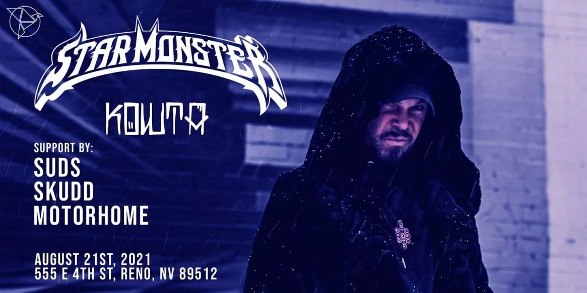 Star Monster, Kowta, Suds, Skudd, and Motorhome