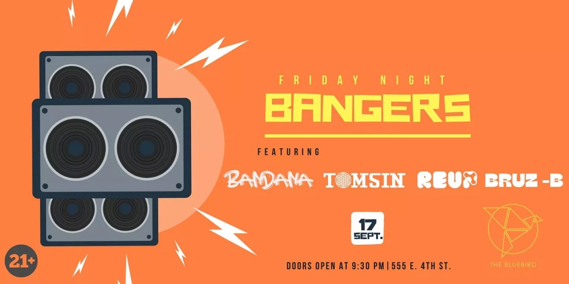 Friday Night Bangers Ft. Bandana, Tomsin, Re-up, Bruz-B