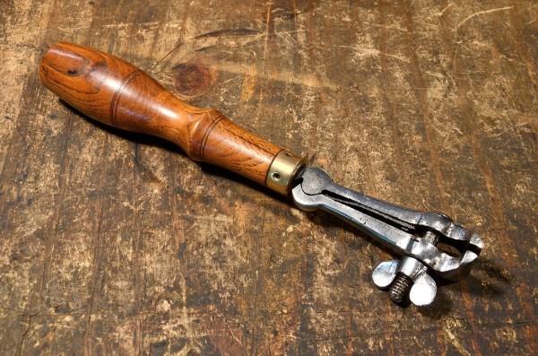 Antique hand vise tool.