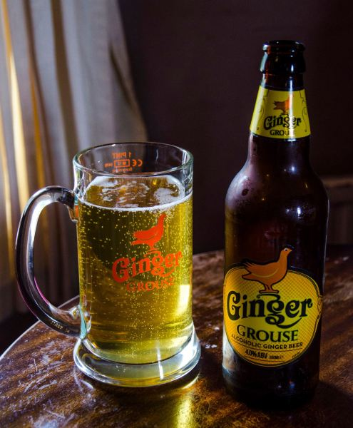 Ginger Grouse Beer