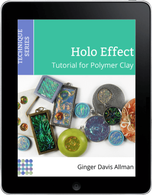 Get the Holo Effect polymer clay tutorial, readable on any digital device.