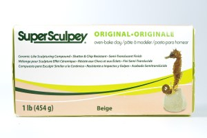 Super Sculpey is a very basic brand of sculpting polymer clay.