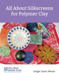 Learn all about using silkscreens on polymer clay with this comprehensive eBook from The Blue Bottle Tree.