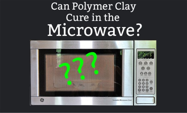 Can you bake polymer clay in the microwave? What happens when you do? Learn more at The Blue Bottle Tree.