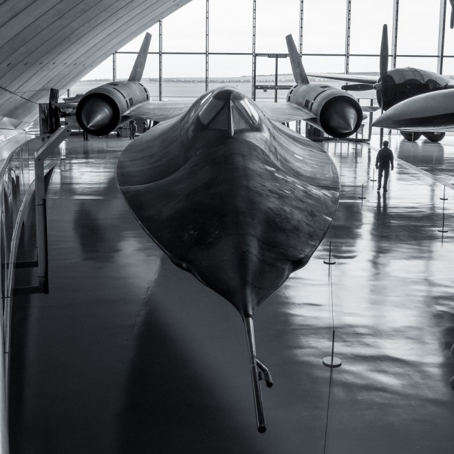 SR-71 Blackbird at the Imperial War Museum in Duxford