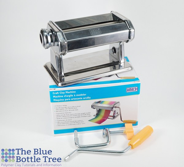 Read a review of the Amaco Clay Machine, one of the cheap pasta machines we use with polymer clay.