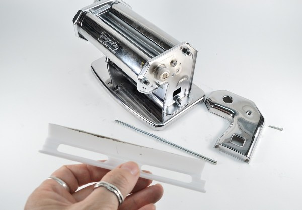 Polymer clayers need a pasta machine that can be easily cleaned. The Imperia's removable blades make this a snap.
