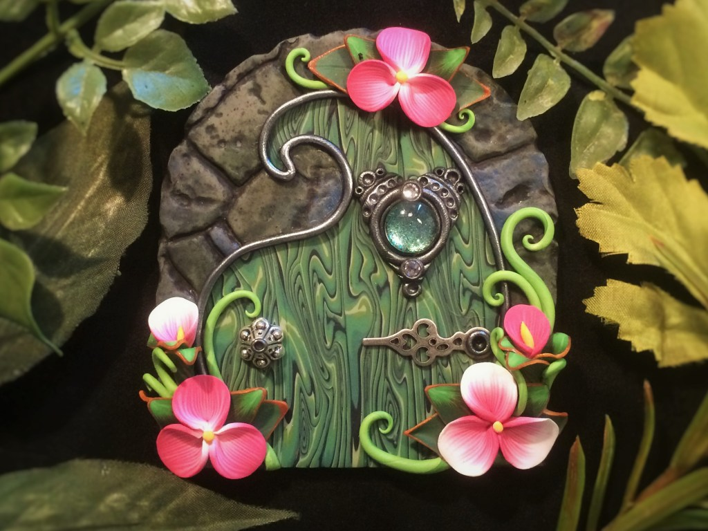 Green Door by Jennifer Sorensen of Wishing Well Workshop