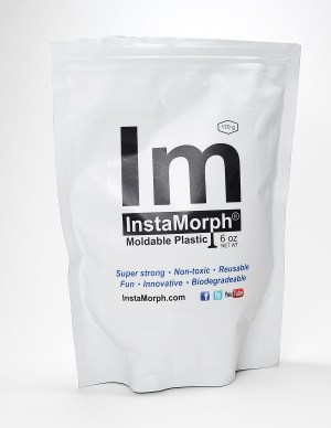 InstaMorph is a hot-water-melt thermoplastic that is excellent for making crafts and DIY.