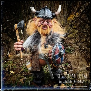 Viking Troll by Heather Robertson of Frosty Feather Fae