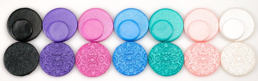Cernit Pearl samples