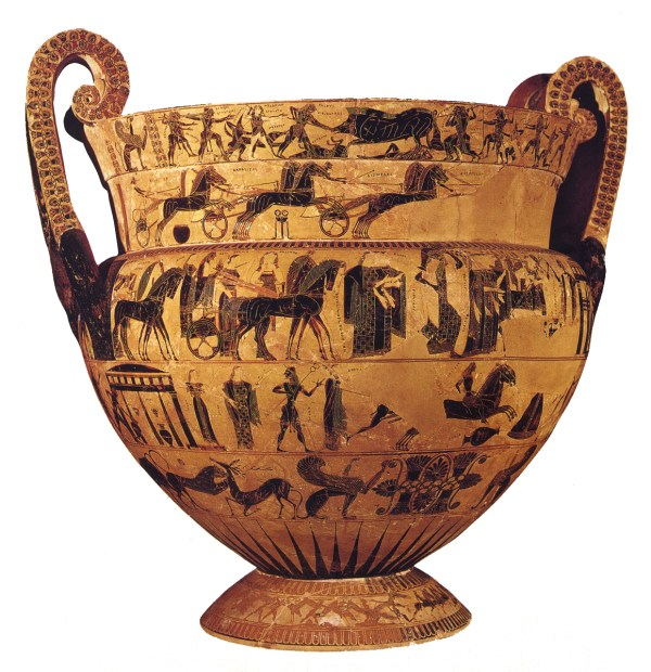 Ancient Greek Art Figure Pottery And Architecture