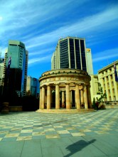 Anzac Square, from Ann Street