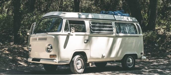 OL' HIPPIE BLUEGRASS SHOW Vintage bus