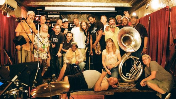 """BrassGrass! …Who Knew? """"We decided to take some kids from the Tipitina Foundation in New Orleans to the mountains of western North Carolina for a musical mash-up."""