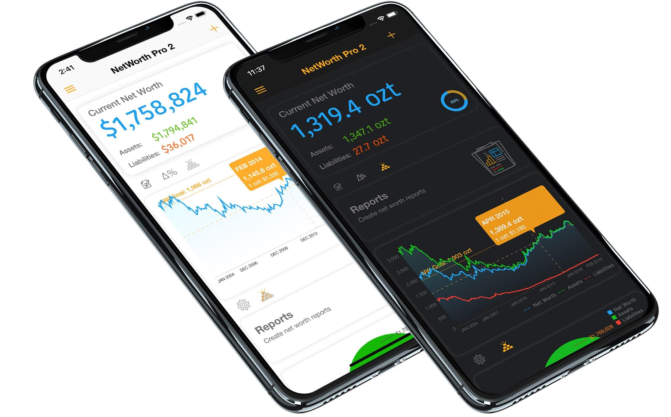 Net Worth Pro 2 iOS