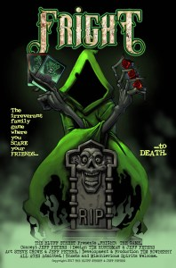 Fright Board Game Poster