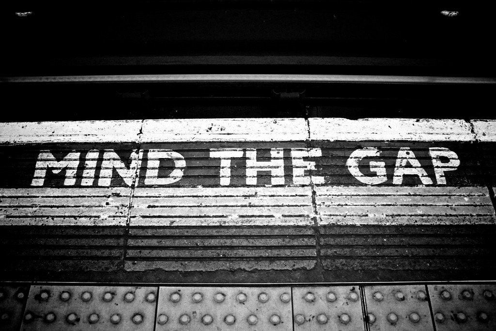 Mind the gap #2...