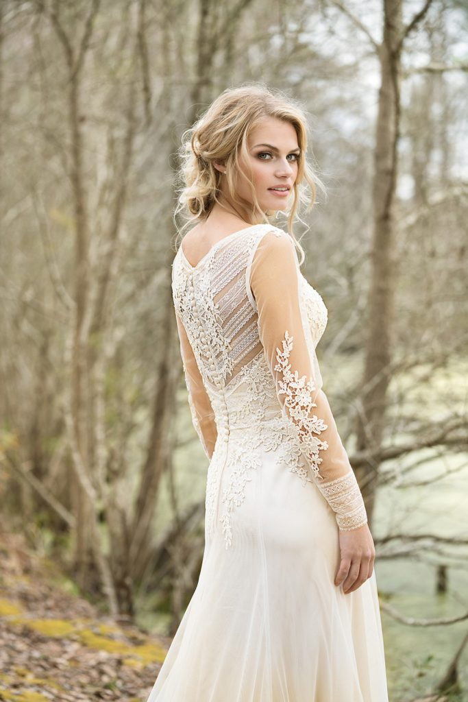 Lillian West  Boho Chic Bridal Gowns  The Blushing Bride