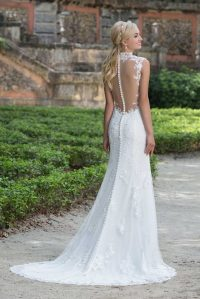 Button Down Wedding Dress