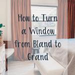 Trimming Windows Window Treatments Master Bedroom Blushing Bungalow