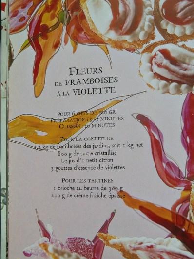Alice cookbook recette sucrée