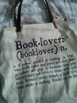 Booklover totebag
