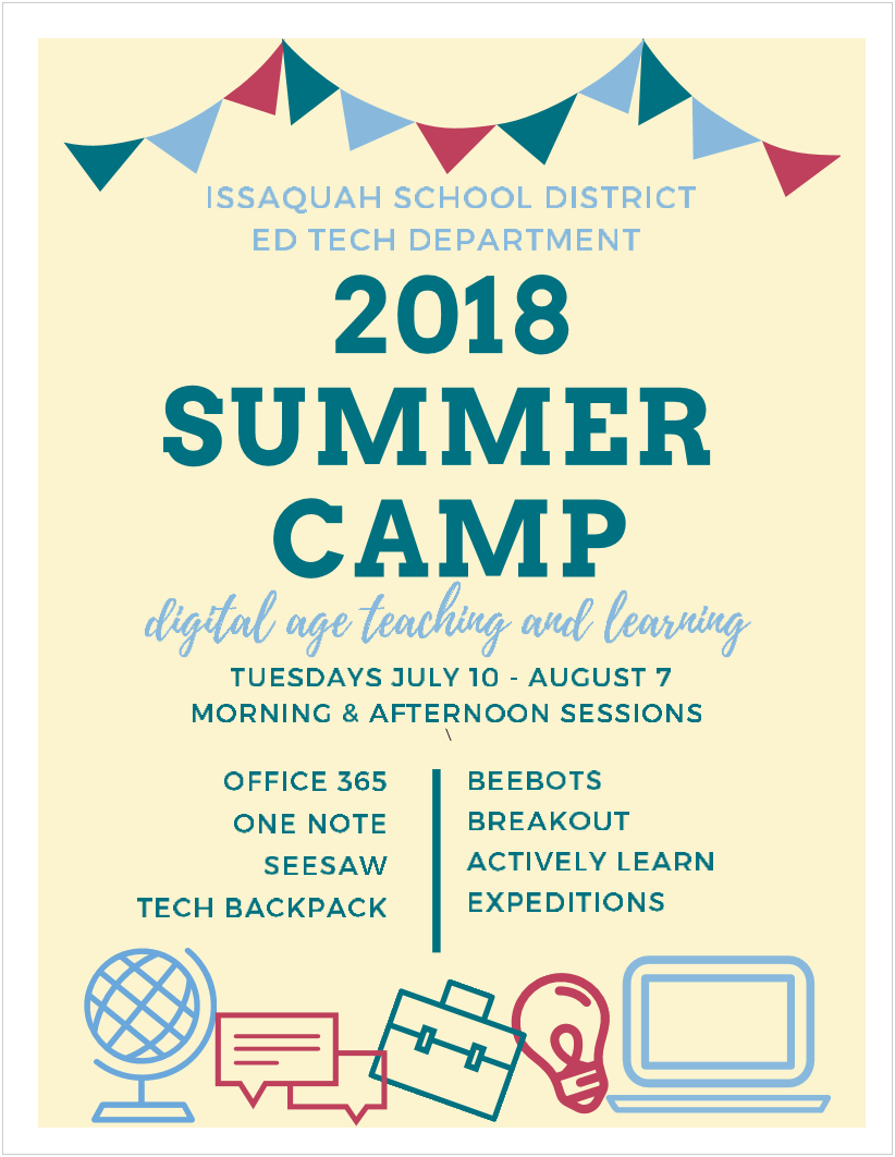 Ed Tech Summer Camp