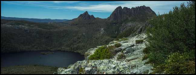 Marion's Lookout Panorama, Cradle Mountain Tasmania