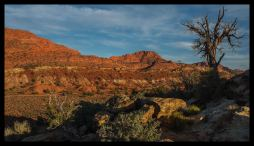 Greatest Earth on Show, Sunset at Stateline Campground Arizona-Utah, Paria Plateau