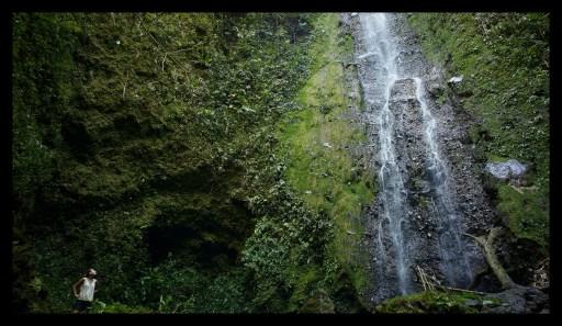 Finca Monteclaro waterfall