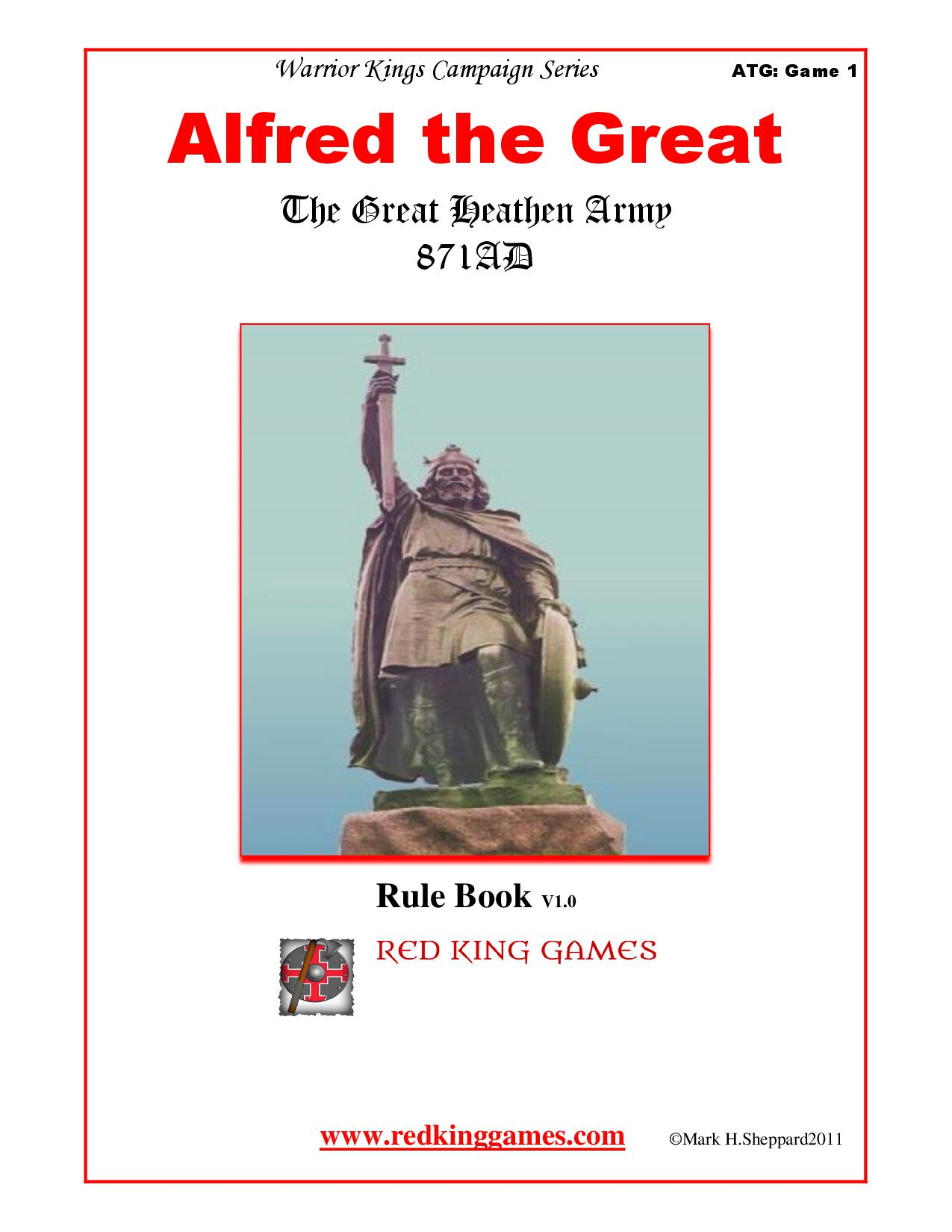 The Boardgaming Way Alfred The Great The Great Heathen