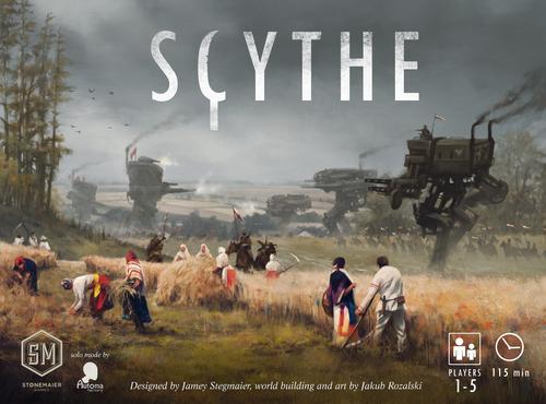 Image result for scythe cover