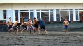 Entrenamiento Rugby Playa