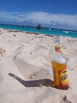 beach and beer